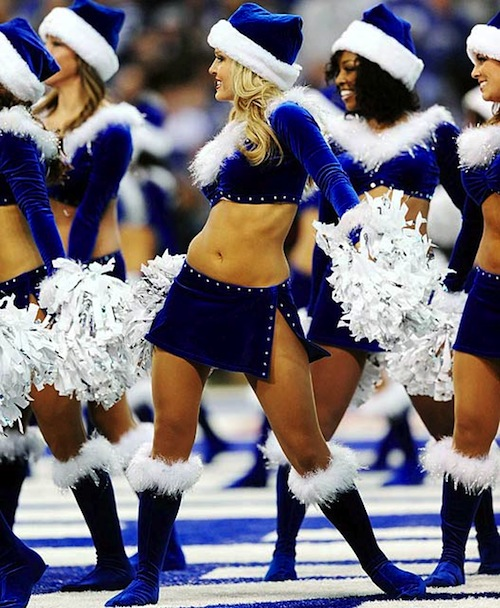 c4783d4f The 15 Best Christmas Themed Cheerleader Uniforms In The NFL ...